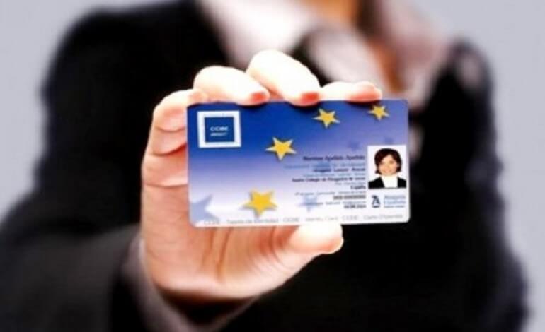 European Professional Card